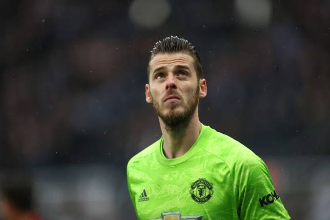 Image result for de gea getty""