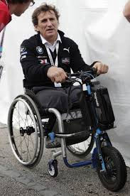 Zanardi defies disability to inspire racing's biggest stars