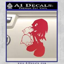 Sonic The Hedghog Knuckles Spikes Decal Sticker A1 Decals