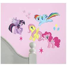 My Little Pony Peel And Stick Wall Decals Walmart Com Walmart Com