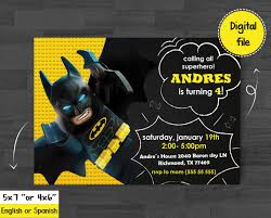 Superhero Invitation Superhero Birthday Chalkboard Batman