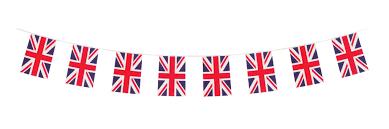 Union Jack Flag Bunting 10 Mtrs