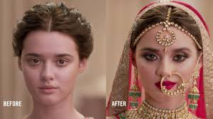 indian bride i mac cosmetics
