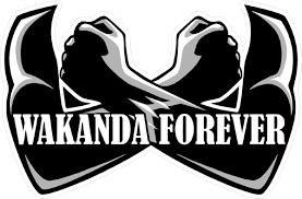Black Panther Wakanda Forever Decal Sticker 07