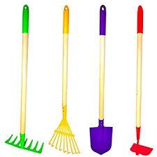 toysmith kids garden tall tool set