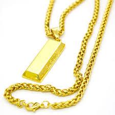 supreme gold bar chain hype