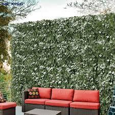 Amazon Com Windscreen4less Artificial Faux Ivy Leaf Decorative Fence Screen 58 X 158 Ivy Leaf Decorative Fence Screen Furniture Decor