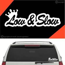 Low Slow Auto Decal Car Sticker Topchoicedecals