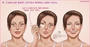 fat 7 easy makeup techniques