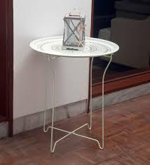 bordeaux steel folding coffee table