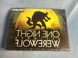 ultimate werewolf party board game bezier