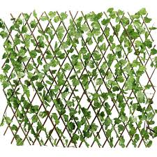 Buy Yaheetech Expandable Trellises Fence Artificial Faux Ivy Leaf Privacy Screen Decorative Trellis Windscreen Double Side Garden Home Decor In Cheap Price On Alibaba Com