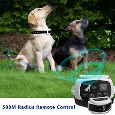 Wireless Electric Dog Fence System Outdoor Wireless Fence Shock And Beeper Collar Remote Control System Training Collars Aliexpress