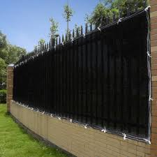 4x50 4ft Tall Black Privacy Fence Screen Mesh Jet Com Fence Design Privacy Fence Screen Modern Garden