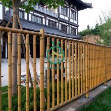 iron bamboo pole fence panels