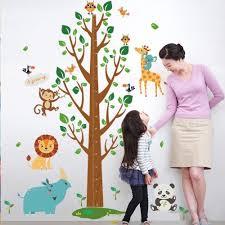 Height Ruler Wall Sticker For Kids Rooms Kindergarten Home Decor Diy Removable Home Garden Decor Decals Stickers Vinyl Art Ayianapatriathlon Com