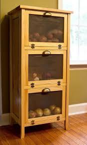 onion bin wooden storage bins
