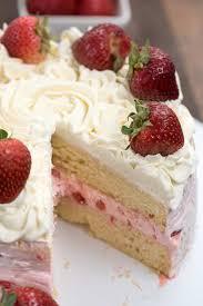 strawberry shortcake layer cake crazy
