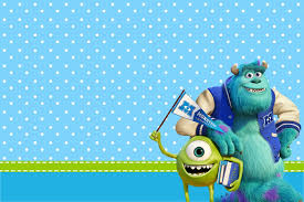 Monster University Free Printable Party Invitations Cumpleanos