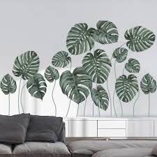 Palm Leaves Wall Decals The Treasure Thrift