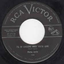 Myrna Lorrie - I'll Be Lonesome When You're Gone (Vinyl) | Discogs