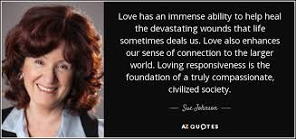 TOP 6 QUOTES BY SUE JOHNSON   A-Z Quotes
