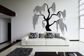 Unique Beautiful Willow Tree Design Fantasy In Nature Wall Stickers For Bedrooms Vinyl Murals Decals Living Room Decor K17 Room Decoration Decoration Roomstickers For Wall Tree Aliexpress