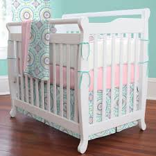 crib bedding on pique flat