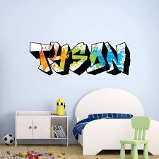 Vwaq Personalized Graffiti Wall Decals Custom Paint Splatter Sticker