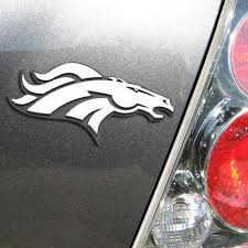 Denver Broncos Chrome Auto Emblem