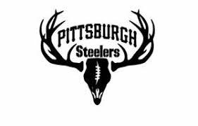 Deer Hunting Antler Truck Car Window Decal Sticker Pittsburgh Steelers Football Ebay