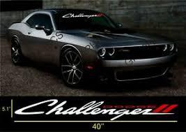 Dodge Challenger Windshield Decal Sticker Vinyl Ebay