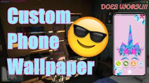gta v rp how to use a custom phone