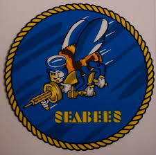 Window Bumper Sticker Military Navy Seabees Shaded Background New Decal 767720214062 Ebay