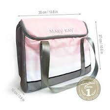mary kay cosmetic organizer bag pink w