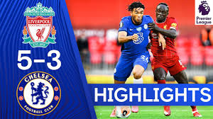 Liverpool 5-3 Chelsea | Premier League Highlights - YouTube