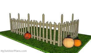 Halloween Graveyard Fence Plans Myoutdoorplans Free Woodworking Plans And Projects Diy Shed Wooden Playhouse Pergola Bbq