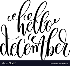 hello hand lettering positive quote to vector image