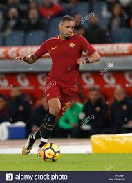 Roma s Bruno Peres in action during the Serie A soccer match between Stock  Photo - Alamy