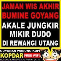 best gambar lucu bahasa jawa warung kopi images wifi