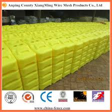 China Pe Made Colorful Temporary Fence Base For Sale China Temporary Fencing Feet Temporary Fence Block