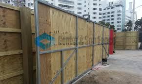 Miami Temporary Fence Installation Fencing Rentals