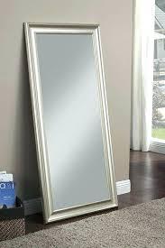 wall mirror black frame metal