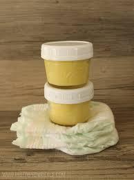 easy diy organic diaper cream