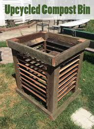 Upcycled Compost Bin Compost Bin Compost Diy Compost