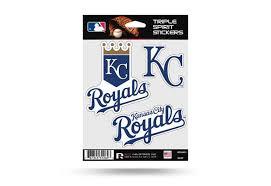 Kansas City Royals Window Decal Set Sticker Officially Licensed Mlb Custom Sticker Shop Window Decals Vinyl Window Decals Custom Stickers