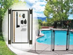 4 Tall Brown Diy Pool Fence Gate Self Latching Self Closing Pool Gate Child Safety Store