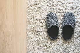 wool rug utilizing baking soda