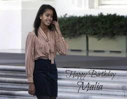 Happy Birthday, Malia Obama! | globalmedianews247