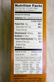trader joes bread pudding nutrition facts